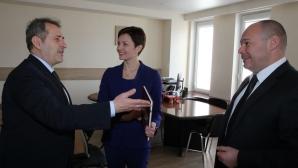 Белчо Горанов се срещна с генсека на Руския олимпийски комитет
