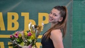 Дария Радулова загуби само два гейма срещу румънка