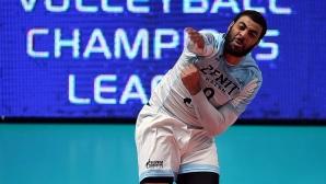 След 4 спасени мачбола Зенит (Казан) е на полуфинал в Шампионската лига (видео + снимки)