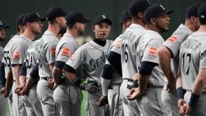 """Сиатъл откри сезона с победа в Япония, Ичиро обра овациите на """"Токио Доум"""" (видео)"""