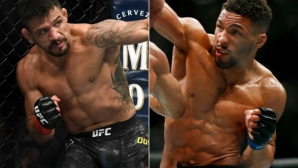 Кевин Лий минава в 77-килограмовата дивизия на UFC, там го очаква Дос Анжос