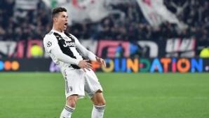 """УЕФА определи наказанието на Кристиано Роналдо за жеста """"ала Симеоне"""""""