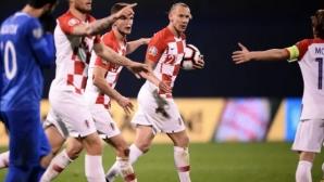 Неочаквано труден мач за Хърватия (видео)