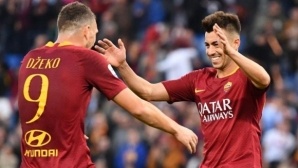 Скандал между Джеко и Ел Шаарауи притесни Рома
