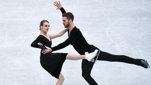 Пападакис и Сисерон спечелиха ритмичния танц с нов световен рекорд