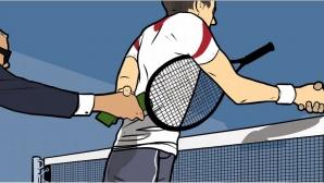 Български тенисисти сред заподозрените в масова схема за уговаряне на мачове