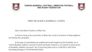 Турция предлага създаването на бейзболно първенство на Черноморието
