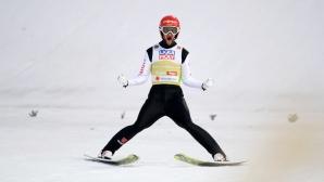 Маркус Айзенбихлер постигна първата си победа за Световната купа по ски скок