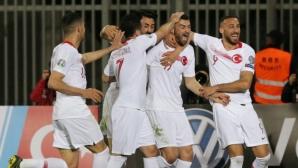 Турция започна с ценен успех като гост над Албания (видео)