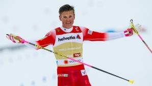 Клаебо и Нилсон взеха малките кристални глобуси в спринта в ски-бягането