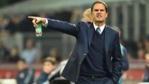 Де Бур: В Интер разполагах с прогнил отбор
