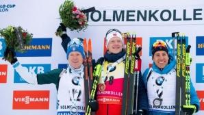 Йоханес Бьо с рекордна 15-а победа за сезона в Световната купа по биатлон