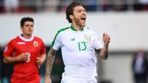 Ирландия започна с успех евроквалификациите (видео)