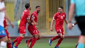 Синът на играл в ЦСКА зарадва Малта