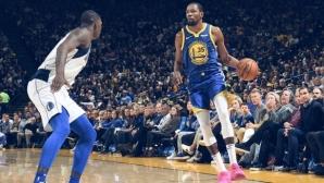 Голдън Стейт загуби от Далас в НБА