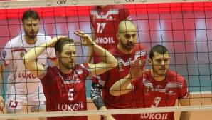Нефтохимик - ЦСКА е дербито на полуфиналите
