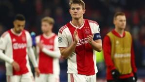 Аякс иска 100 милиона от Барселона за Де Лихт