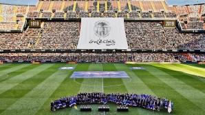 """Над 38 хиляди се появиха на """"Местайя"""", за да видят големите легенди на Валенсия"""