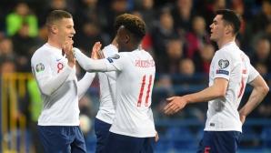"""И Черна гора отнесе пет гола от Англия, въпреки че имаше фалстарт за """"трите лъва"""""""