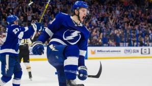Тампа Бей продължава да чупи рекорди в НХЛ