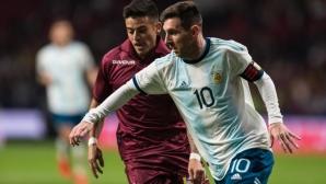 Меси ще играе за Аржентина на Копа Америка