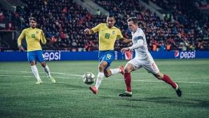 Бразилия се събуди след почивката и превзе Прага