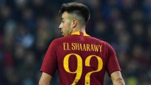 Рома изгуби голмайстора си за мачовете с Наполи и Фиорентина