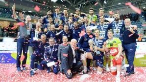 Тренто спечели Купата на CEV за първи път (видео + снимки)