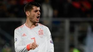 Мората блесна с 2 гола в отсъствието на Луис Енрике (видео)