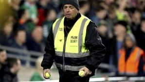 УЕФА налага глоба на Ирландия