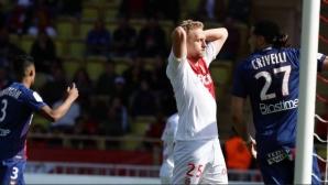 Каен се измъкна от дъното след победа в Монако