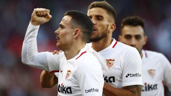 Севиля удари пряк конкурент за Шампионската лига (видео)