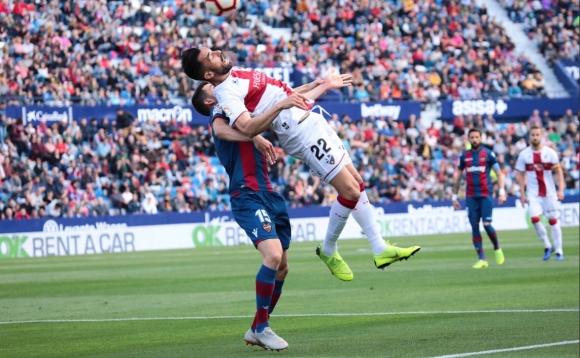Леванте и Уеска заложиха на атаката в борбата на дъното