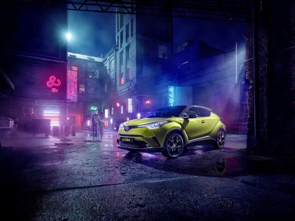 Toyota представи лимитирания C-HR Neon Lime за Европа