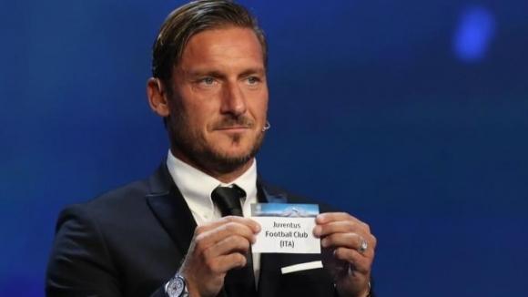 Тоти стиска палци на Ювентус в Шампионска лига