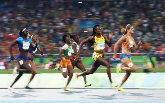 Звездна компания в спринта на 100 метра при жените на Диамантената лига в Лондон