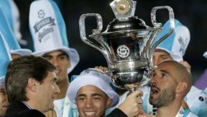 Голямо шоу за новия шампион на Аржентина (видео+галерия)