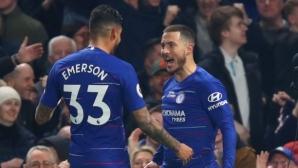Магията на Азар качи Челси на 3-ото място (видео)