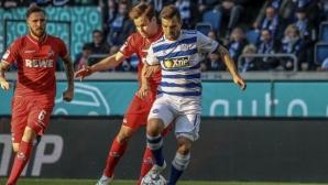 Инфаркт помрачи спектакъл с 8 гола във Втора Бундеслига