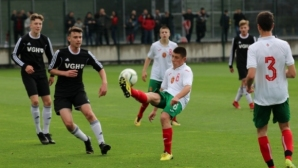 Победа над селекция от Волфсбург, Хановер и Айнтрахт за юношите на България