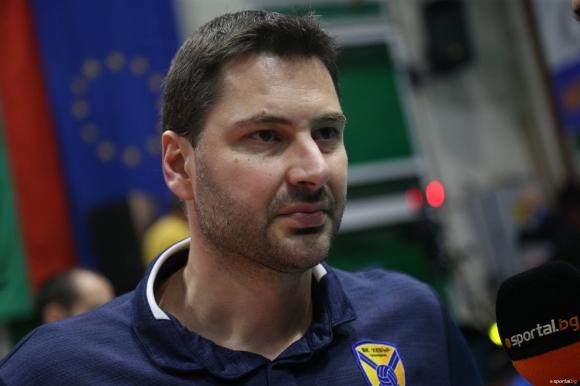 Атанас Петров: Спокойни сме, няма напрежение преди финала