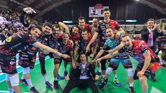 Перуджа удари Модена в полуфинал №1 и без Атанасийевич (видео + снимки)