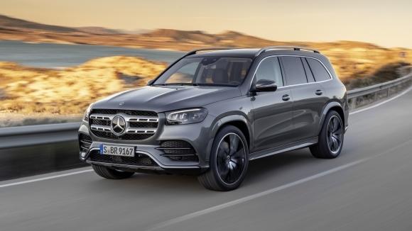 Това е новият GLS - най-големият и най-луксозен SUV на Mercedes