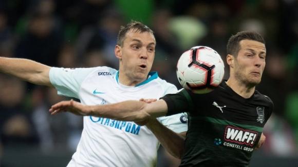 Зенит докосва титлата след драматичен успех в Краснодар