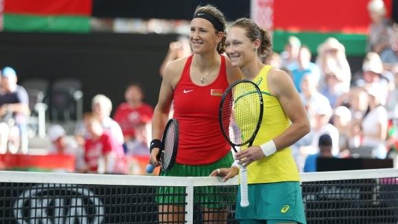 Мач на двойки ще определи победителя между Австралия и Беларус на