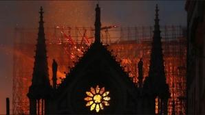 Футболният свят е разтърсен от пожара в Нотр Дам