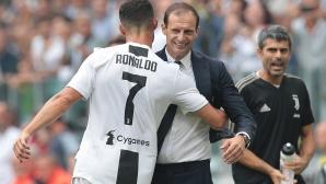 Роналдо е бъдещето на Ювентус, увери Алегри
