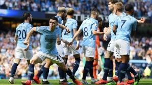 Манчестър Сити - Тотнъм 1:0 (гледайте на живо)