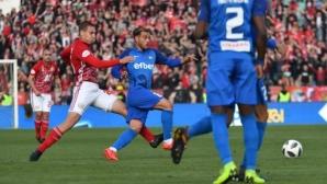 Този път автогол нямаше, но Левски пак спря ЦСКА-София за върха