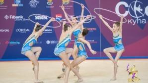 Ансамбълът ни девойки остана четвърти на пет обръча в Баку